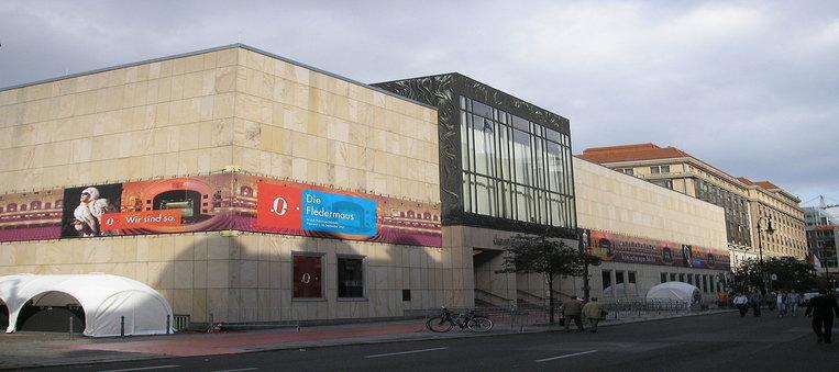 Komische Oper Berlin Exterior Where Berlin Ballet Performed